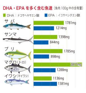 血管年齢を下げる方法はDHA・EPA